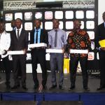 Les 05 gagnants partent avec un trophée + un Macbook Pro + 2.000.000FCFA.
