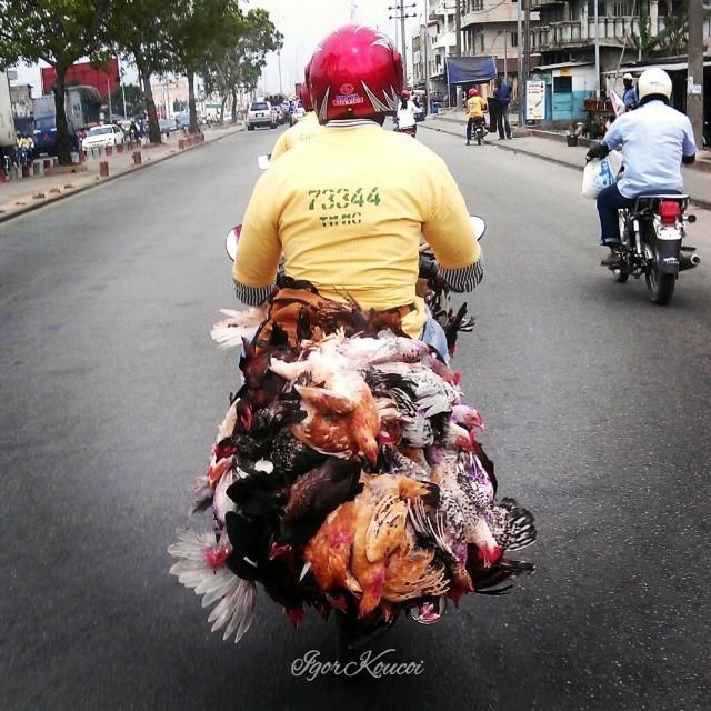 Scène de route #Cotonou #Bénin
